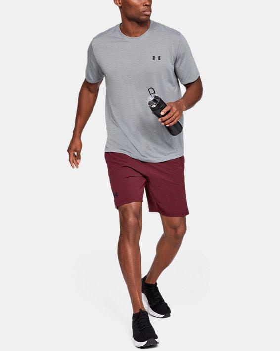 Men's UA Siro Short Sleeve, Gray, pdpMainDesktop image number 0