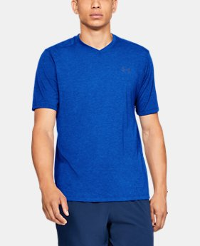 Men's UA Siro Short Sleeve V-neck  1  Color Available $30