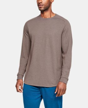 New Arrival Men's Athlete Recovery Sleepwear™ Ultra Comfort Heavyweight Long Sleeve  2  Colors Available $120