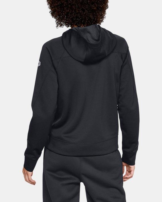 Women's UA RECOVER™ Track Jacket, Black, pdpMainDesktop image number 2