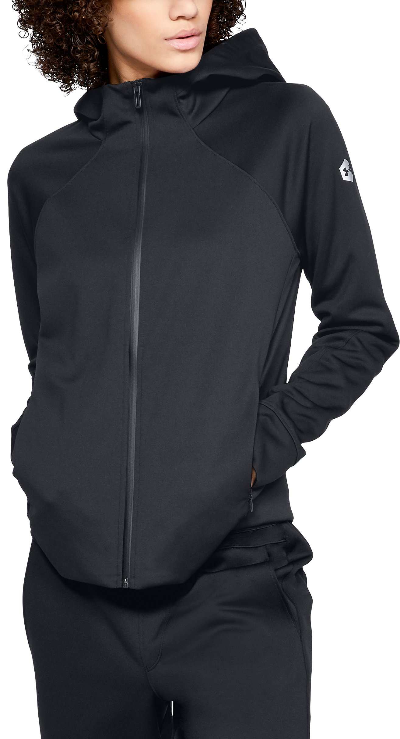 small jackets Women's Athlete Recovery Track Suit™ Jacket Secure, <strong>zip hand pockets</strong>.
