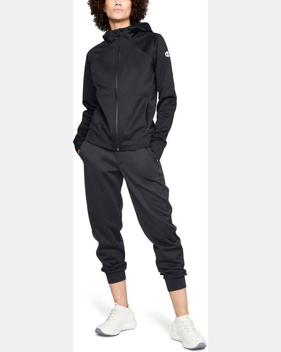 Women's UA RECOVER™ Track Jacket, Black, pdpMainDesktop image number 1