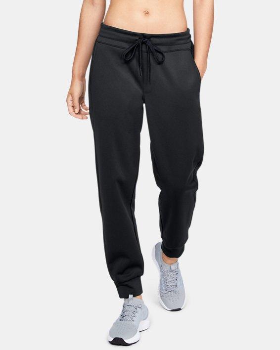 Women's UA RECOVER™ Track Pants, Black, pdpMainDesktop image number 0