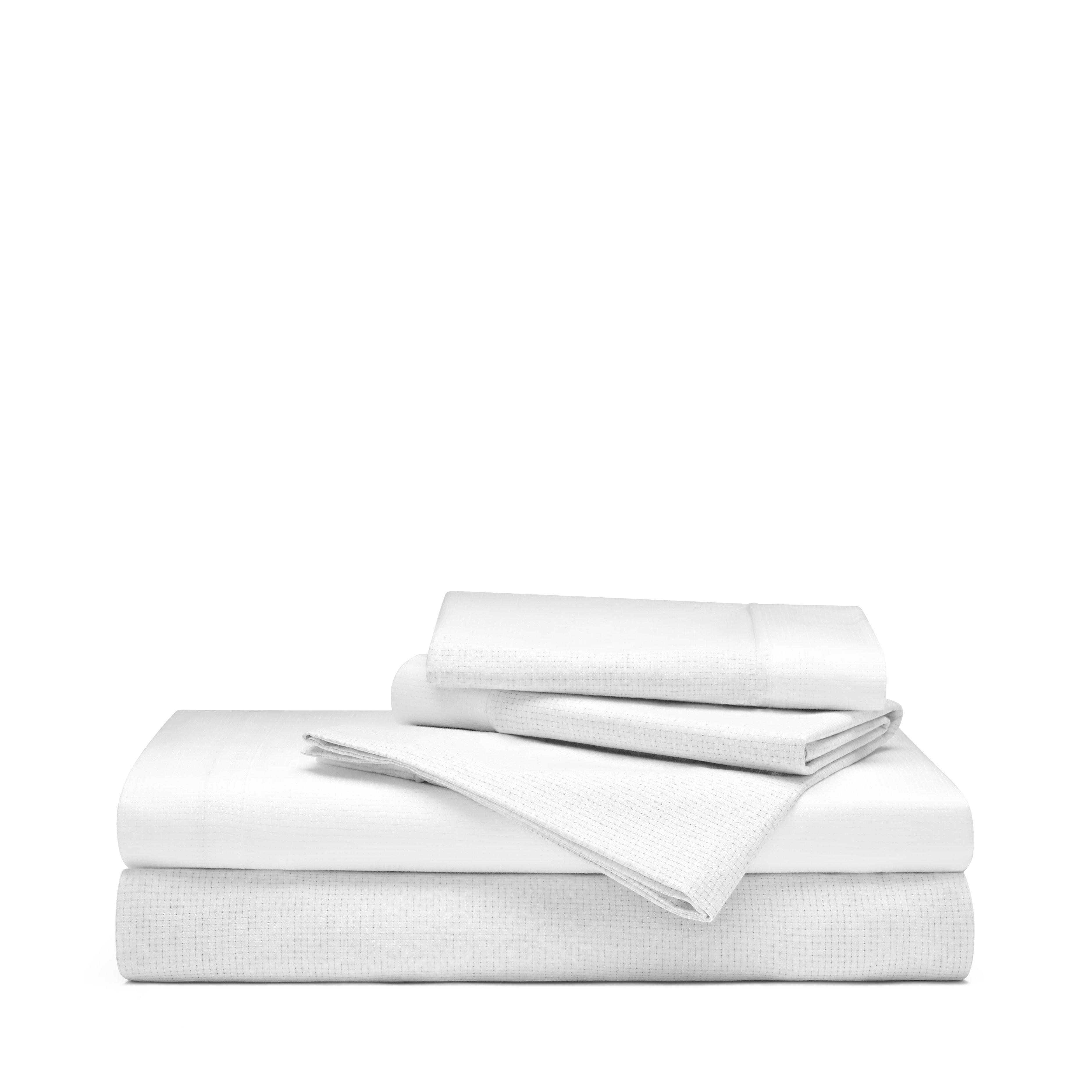 Athlete Recovery Sheet Set - TwinXL, White