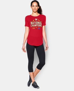 Women's Maryland Lacrosse National Champs T-Shirt  1 Color $34.99