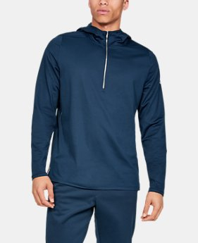 Best Seller Men's Athlete Recovery ½ Zip Hoodie  1  Color Available $80