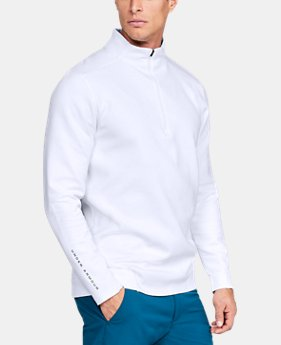 Men's UA Storm Playoff ½ Zip  1  Color Available $75