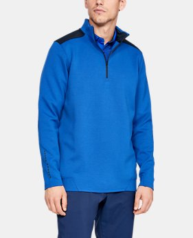 New Arrival  Men's UA Storm Playoff ½ Zip  1  Color Available $90
