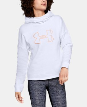 Women's UA Rival Fleece Big Logo Hoodie 30% OFF ENDS 11/26 1  Color Available $29.99