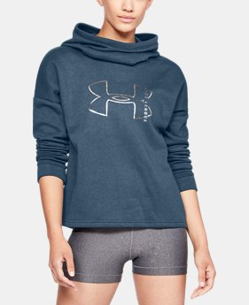 Women's UA Cotton Big Logo Hoodie  2  Colors Available $45