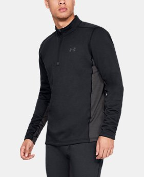 New Arrival Men's UA Twill Extreme Base 1/4 Zip  1  Color Available $90