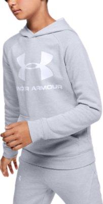Under Armour Boys Armour Fleece Basketball Icon Hoodie