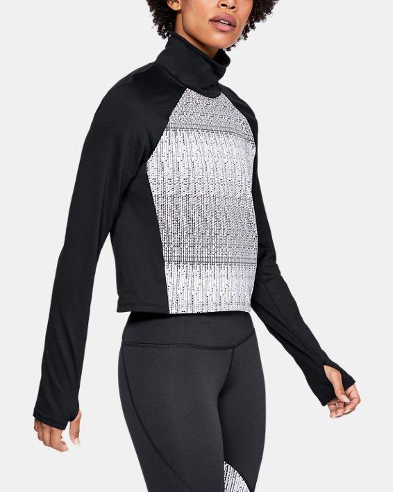 Women's UA Cozy Long Sleeve, Black, pdpMainDesktop image number 0