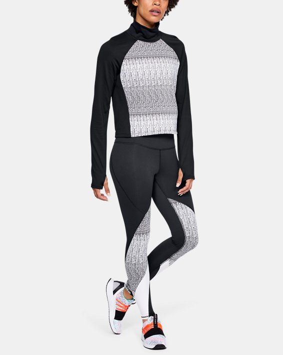 Women's UA Cozy Long Sleeve, Black, pdpMainDesktop image number 1