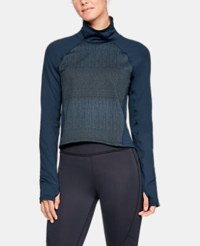New Arrival  Women's ColdGear® Cozy Mock Long Sleeve  1  Color Available $80
