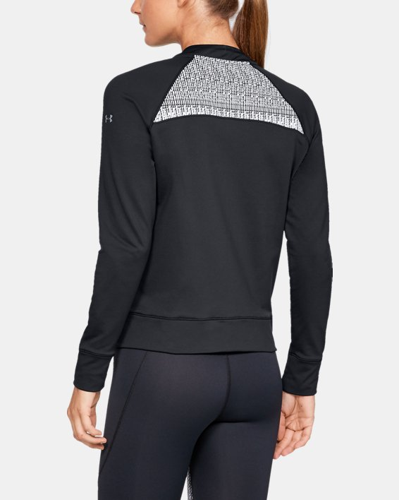 Women's UA Cozy Full Zip Jacket, Black, pdpMainDesktop image number 2
