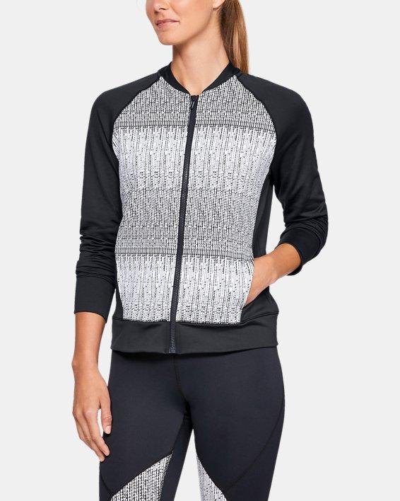 Women's UA Cozy Full Zip Jacket, Black, pdpMainDesktop image number 0