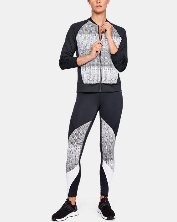 Women's UA Cozy Full Zip Jacket, Black, pdpMainDesktop image number 1