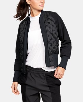 New Arrival Women's UA Quilted Bomber Jacket  1  Color Available $450