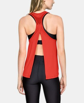 New Arrival Women's HeatGear® Major Mesh Tank  1  Color Available $35