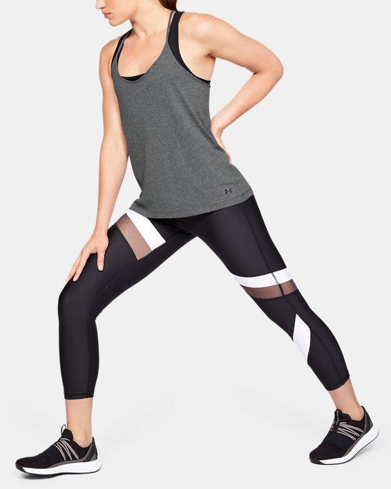 Women's UA Fashion Tank, Gray, pdpMainDesktop image number 1