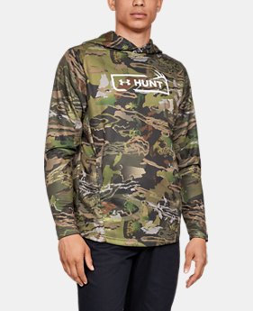 Men's UA Tech™ Terry Camo  Hoodie  4  Colors Available $65
