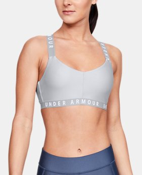 fd7ac215a1fd3c Women's UA Wordmark Strappy Sports Bralette Bra 4 Colors Available $30