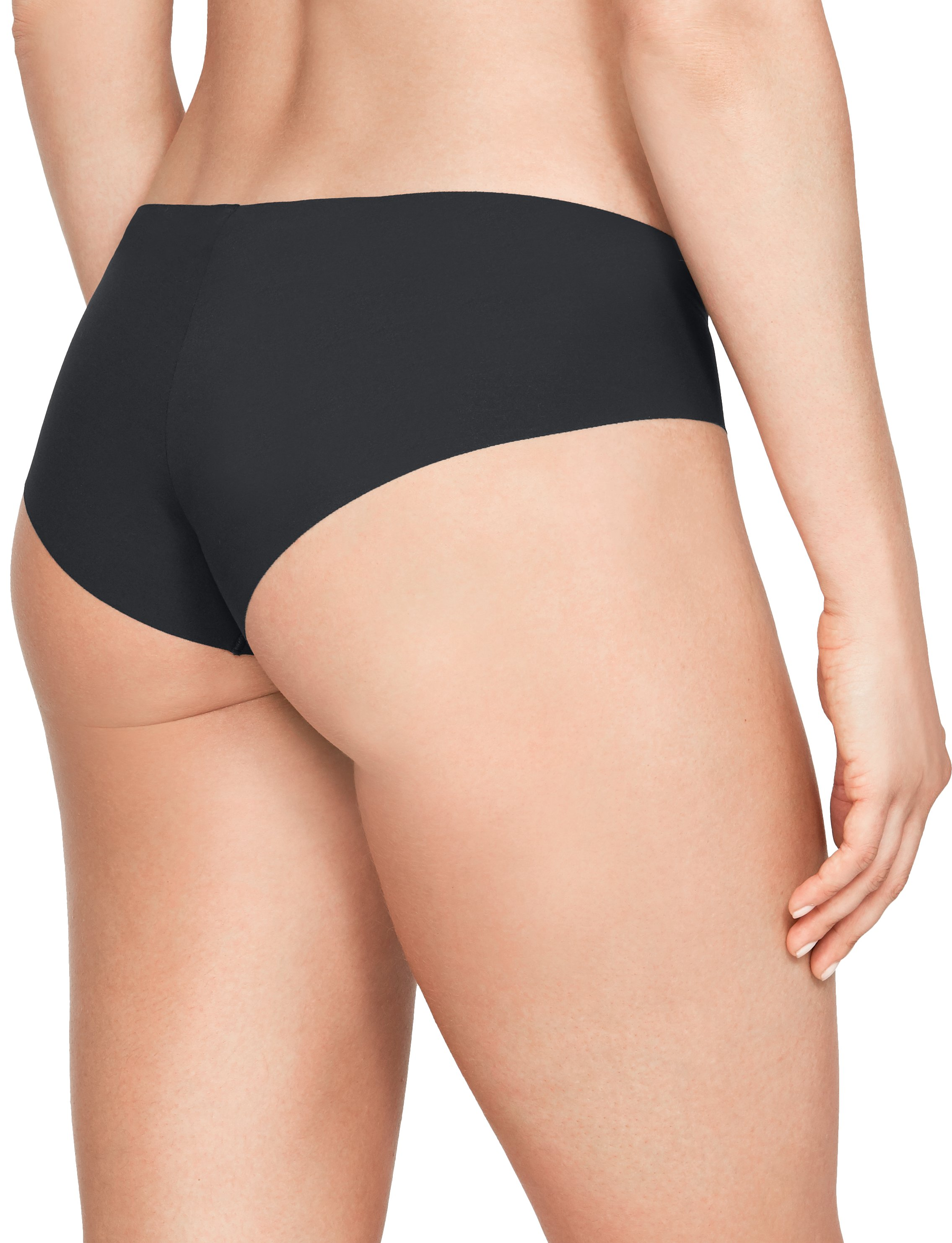 Women's UA Pure Stretch Hipster 3-Pack, Black ,