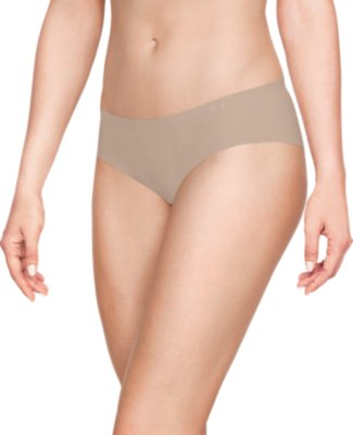 Under Armour Pure Stretch Lightweight Womens Hipster Brief Nude