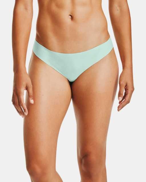Women's UA Pure Stretch Thong 3-Pack Printed