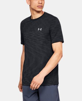 New Arrival Men's UA Vanish Seamless Short Sleeve FREE U.S. SHIPPING 3  Colors Available $40