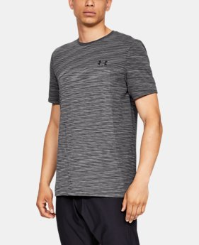 New Arrival  Men's UA Vanish Seamless Short Sleeve  3  Colors Available $50