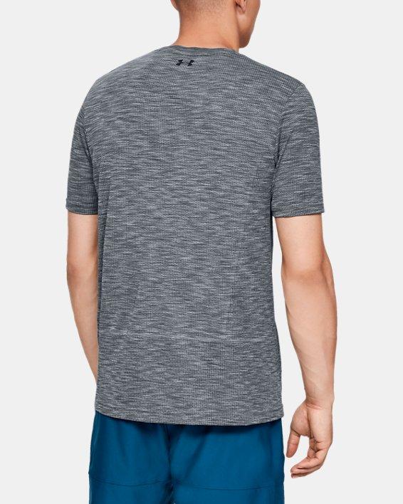 Men's UA Vanish Seamless Short Sleeve, Gray, pdpMainDesktop image number 2