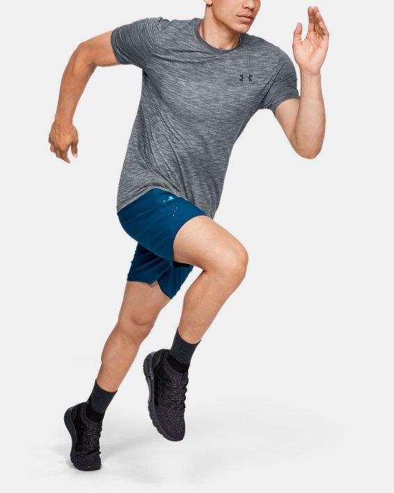 Men's UA Vanish Seamless Short Sleeve, Gray, pdpMainDesktop image number 1