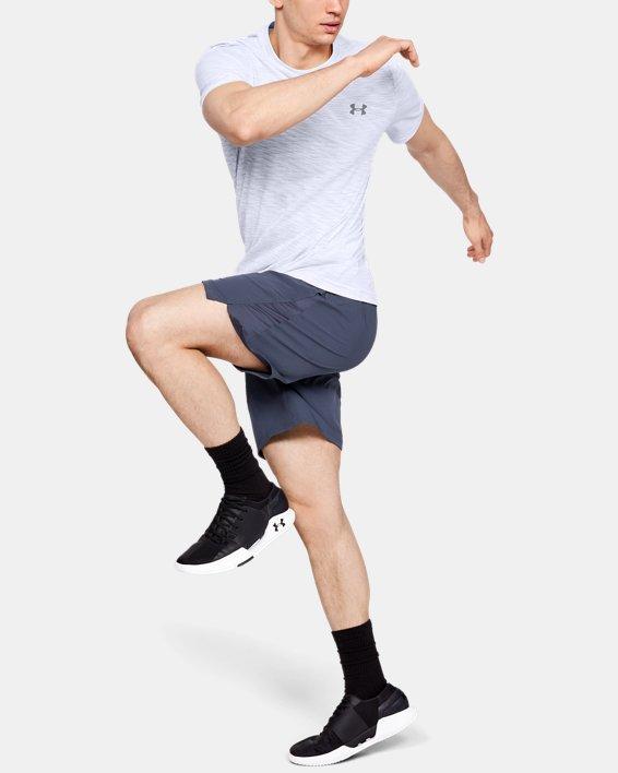 Men's UA Vanish Seamless Short Sleeve, White, pdpMainDesktop image number 1