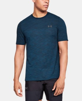 Men's UA Vanish Seamless Short Sleeve   $40