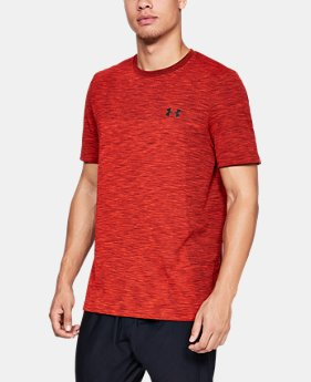 New Arrival  Men's UA Vanish Seamless Short Sleeve  1  Color Available $50