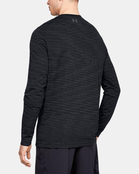 Haut à manches longues sans coutures UA Vanish pour homme, Black, pdpMainDesktop image number 2