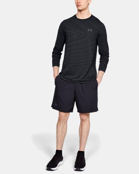 Haut à manches longues sans coutures UA Vanish pour homme, Black, pdpMainDesktop image number 1