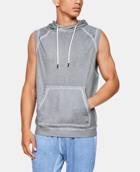 New Arrival Men's UA Sportstyle Gym Issue Sleeveless Hoodie  2  Colors Available $60