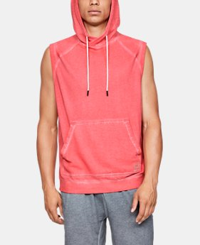 New Arrival Men's UA Sportstyle Gym Issue Sleeveless Hoodie  1  Color Available $60