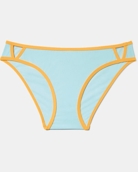 Women's UA Armour Swim Bottom, Blue, pdpMainDesktop image number 3