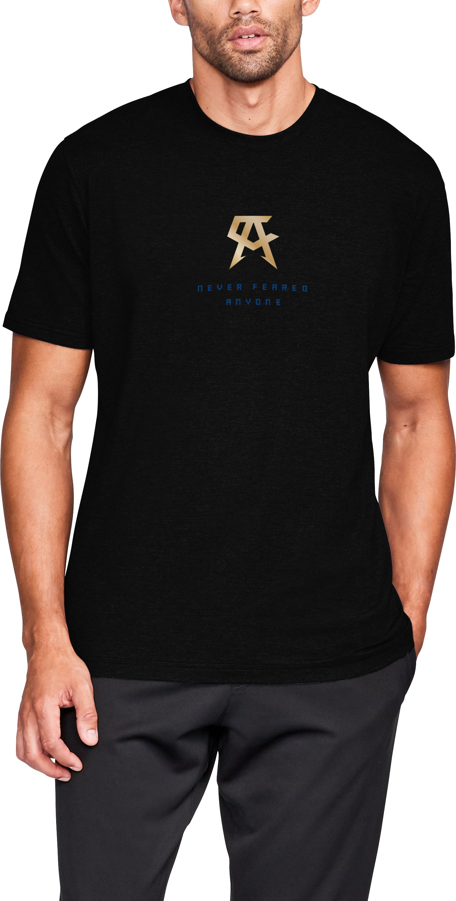 Men's UA Canelo Logo T-Shirt, Black ,