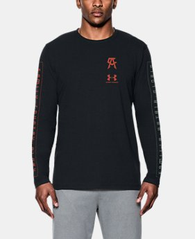 Men's UA Canelo Left Chest Long Sleeve T-Shirt  2 Colors $39.99