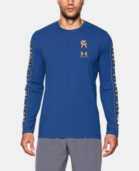 New Arrival Men's UA Canelo Left Chest Long Sleeve T-Shirt   $39.99
