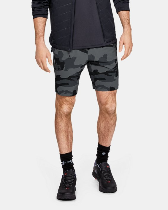 Men's UA Fusion Shorts, Gray, pdpMainDesktop image number 0
