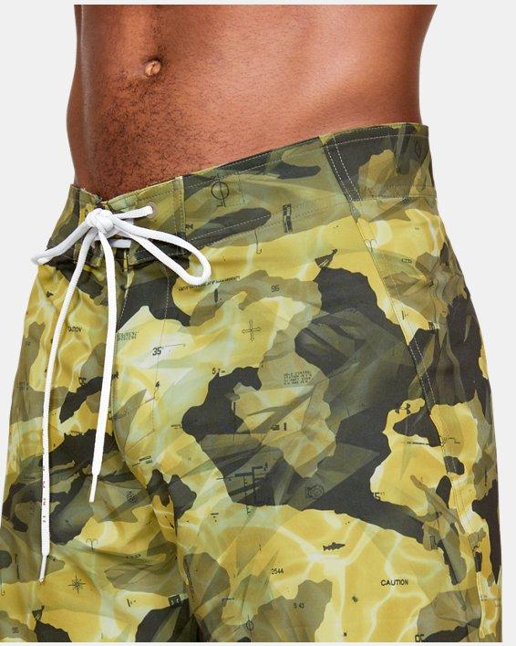 Men's UA Tide Chaser Boardshorts, Brown, pdpMainDesktop image number 6