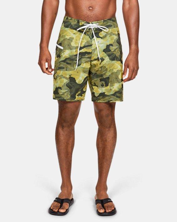 Men's UA Tide Chaser Boardshorts, Brown, pdpMainDesktop image number 0