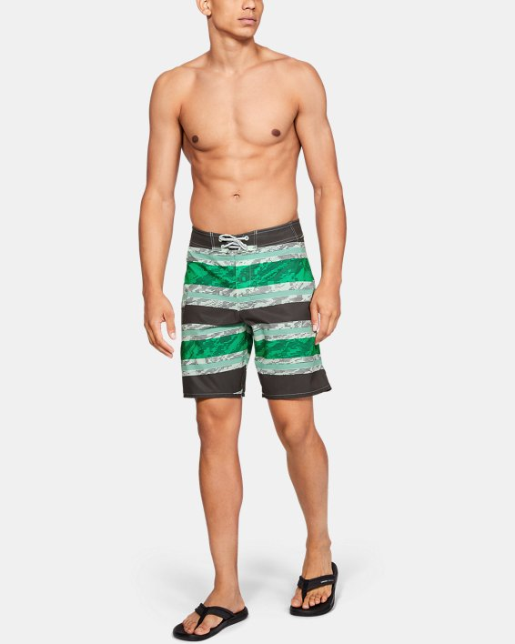 Men's UA Tide Chaser Boardshorts, Green, pdpMainDesktop image number 1