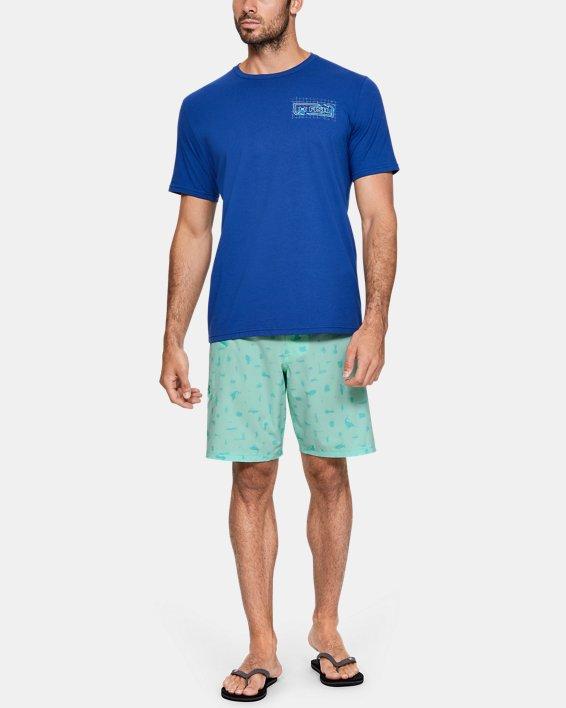 Men's UA Tide Chaser Boardshorts, Green, pdpMainDesktop image number 5